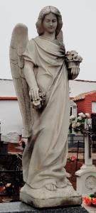 estatua cementerio